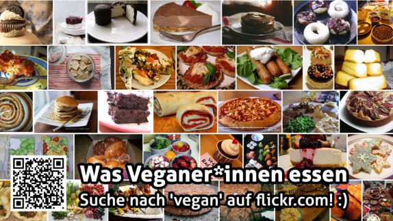 Was Veganer*innen essen